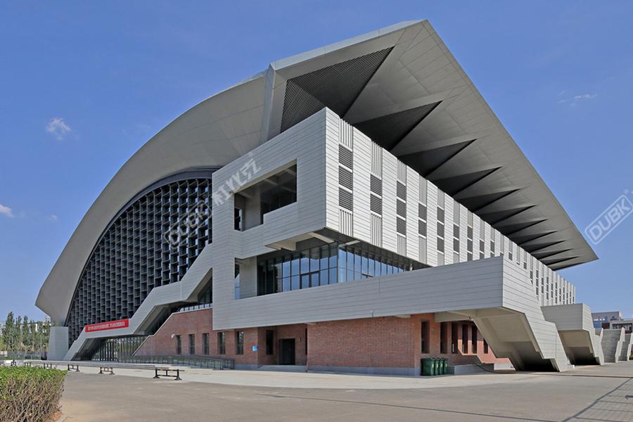 中国第二届全国青少年运动会排球竞技场